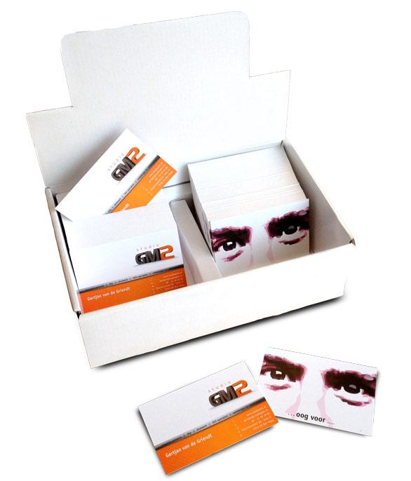 Visitekaartjes StudioGM2 - € 49,00