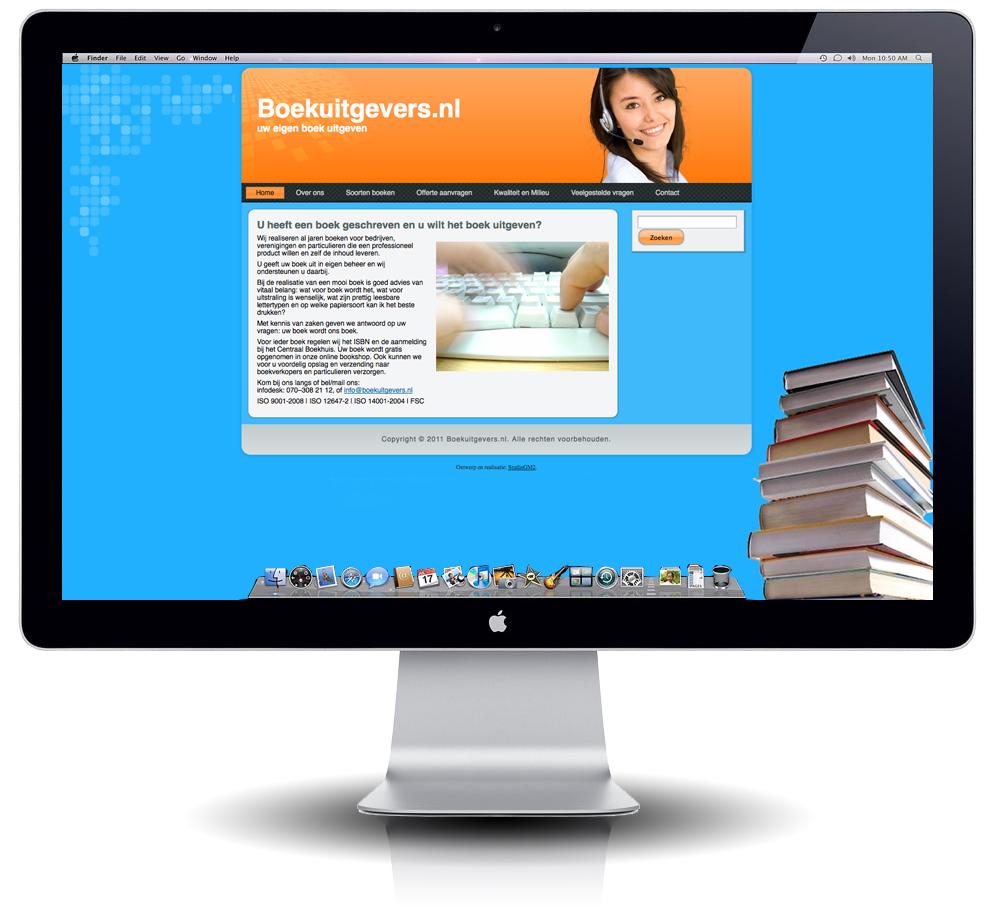 Interface Boekuitgevers.nl | ontwerp StudioGM2