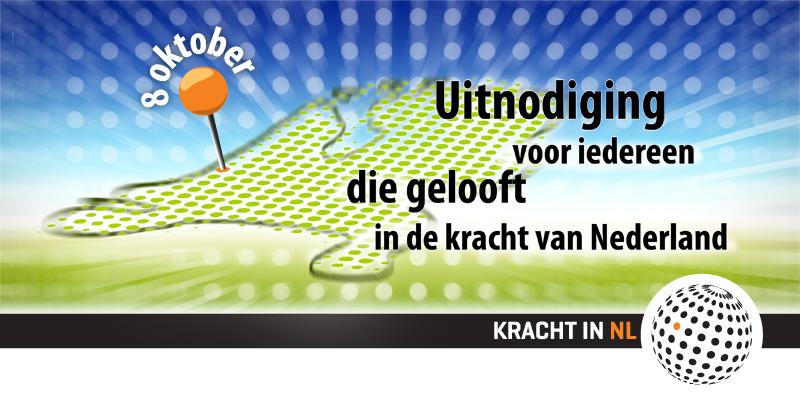 Kracht in NL Uitnodiging Event ontwerp