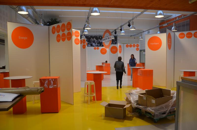 Kracht in Nederland opbouw | event ontwerp