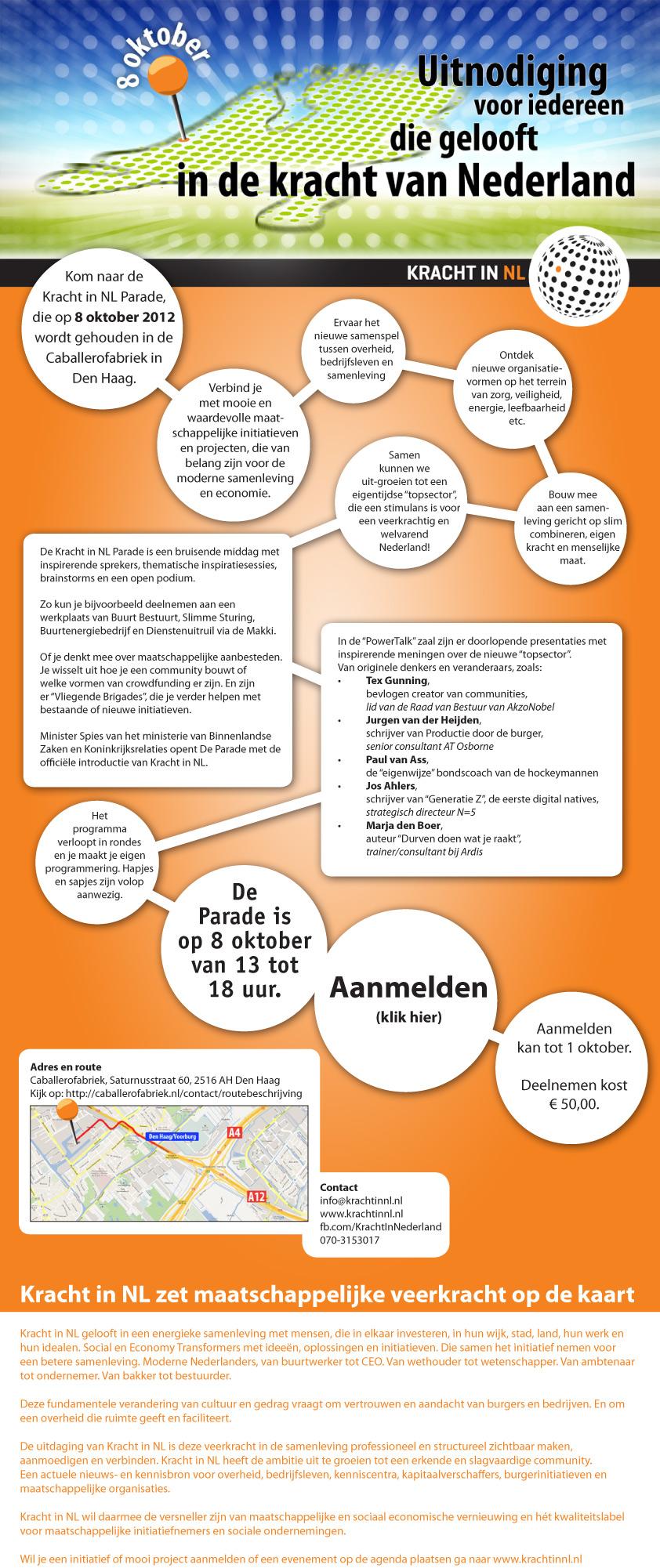 Uitnodiging Kracht in NL